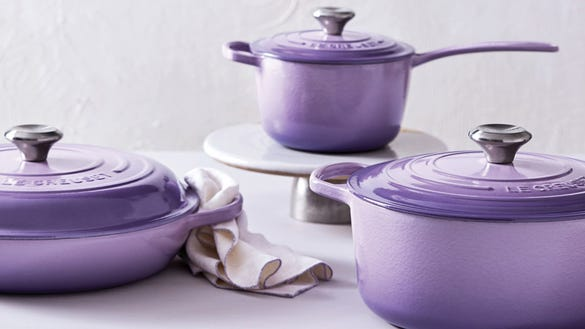 Le Creuset is on sale at Nordstrom in this gorgeous color