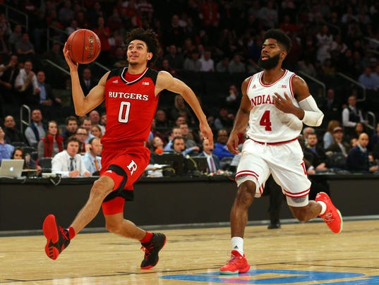 NCAA Basketball: Big Ten Conference Tournament-Indiana vs Rutgers
