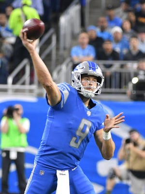 Lions quarterback Matthew Stafford is ranked No. 18 on CBS Sports' list of top NFL players 30 and older.