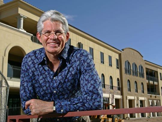 Fred Unger, president of Spring Creek Development,