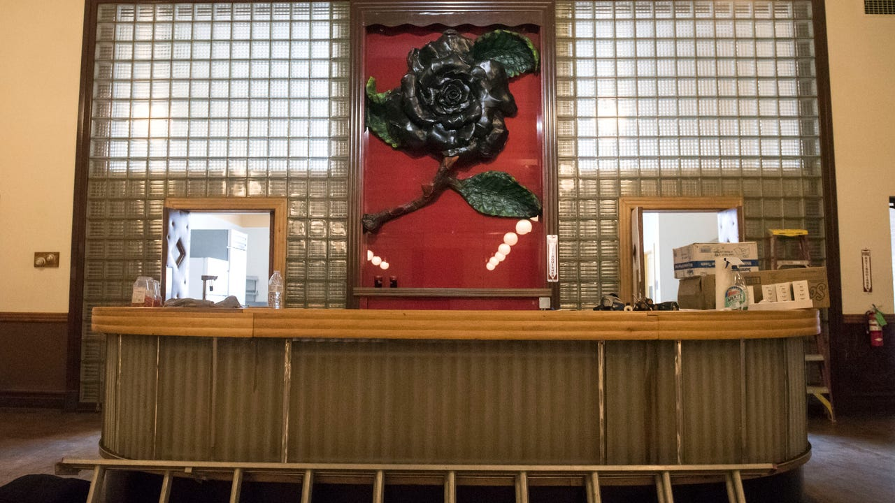 The Black Rose Ballroom sits above Something Wicked Brewing Company at 34 Broadway. It is a recently opened rental space for private events.