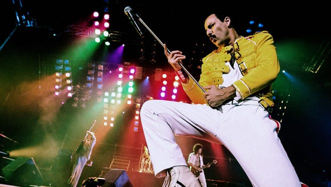 Pablo Padin plays Freddie Mercury in Queen tribute act God Save the Queen