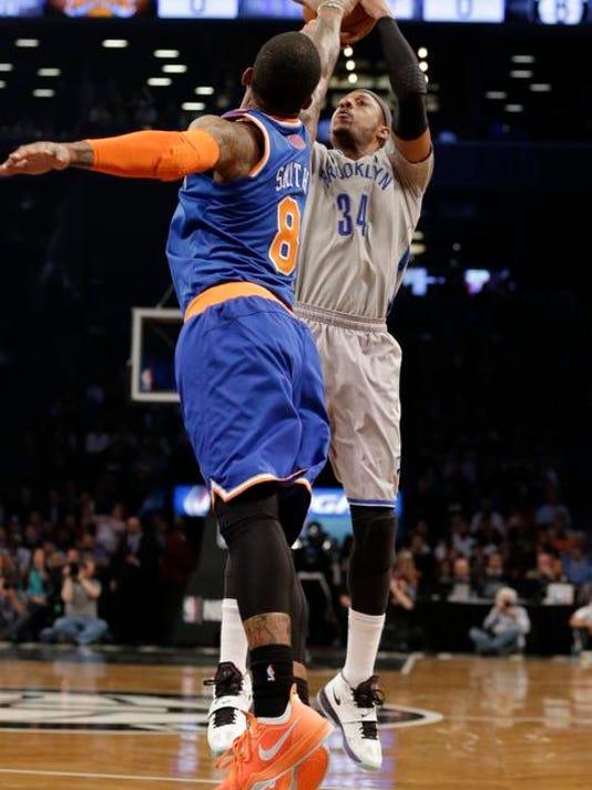 Knicks Nets basketball