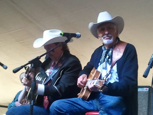 Dave Alexander and Tommy Allsup