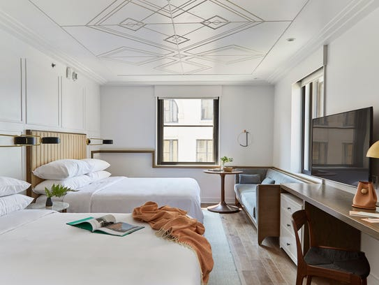 Inside noelle nashville 39 s new boutique hotel for Design boutique hotel alacati