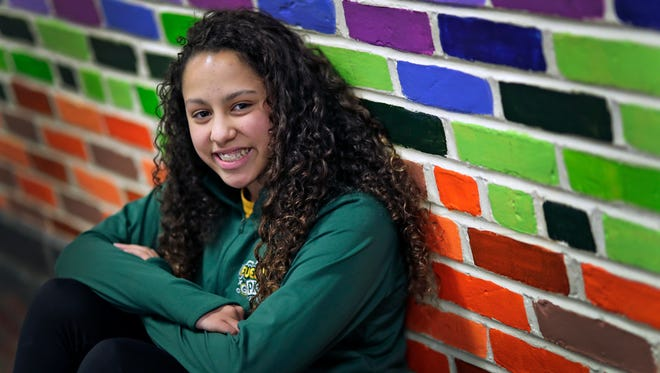 Destinee Ramos, an eighth-grader at Shattuck Middle School in Neenah, traveled to New York City to speak at the GENYOUth gala. She was the national representative of Fuel Up to Play 60 program.