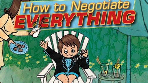'How to Negotiate Everything' by David Spellman