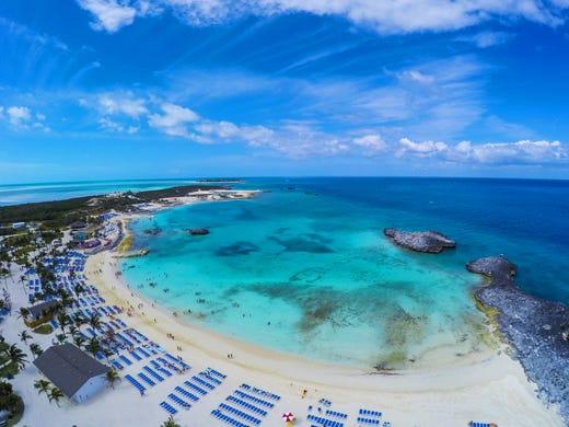 Great Stirrup Cay: Norwegian Cruise Line's private island