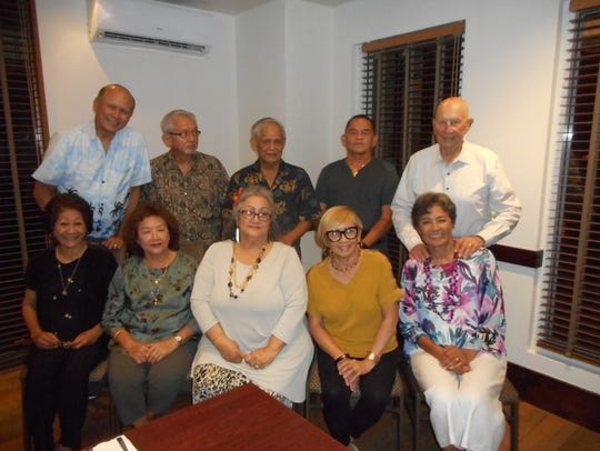 The Guam High School Class of 1965 held its quarterly