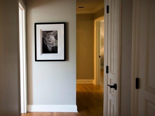 Ida Randall uses art, especially graphic prints, to