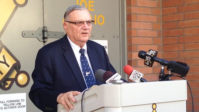 Sheriff Joe Arpaio on Thursday, Sept. 17, 2015, launched a drug-bust operation in an attempt to stop drug dealing at its source: by arresting dealers.