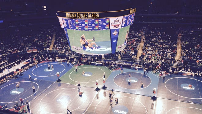 The NCAA Division I Wrestling Championships came to Madison Square Garden for the first time on March 17-19, 2016.