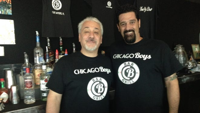 Carlo and Tony Benza, owners of Chicago Boys Bar & Grill in Fort Myers