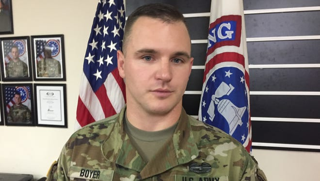 Army Staff Sgt. Trent Boyer is putting together a 5K run to remember the terror attacks of Sept. 11, 2001.
