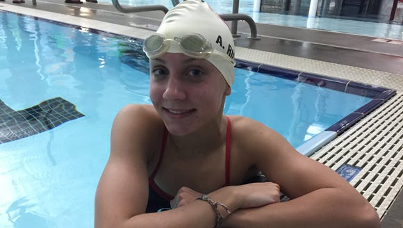 Greenville High sophomore Anna Havens Rice, who won