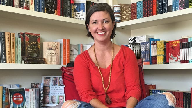 Kelly Gore, owner of Bound Booksellers in Franklin
