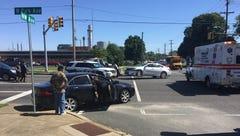 Vineland Police investigate four-car crash