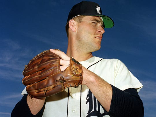 Denny McLain is shown in this 1967 photo during Spring
