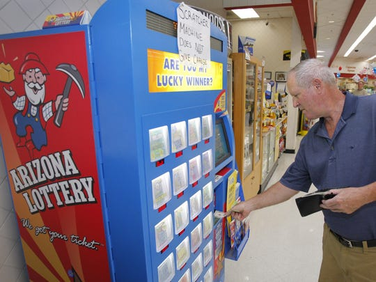 People would be able to buy Arizona Lottery tickets from more vending machines in grocery stores across the state under the budget released by the Governor's Office on Jan. 12, 2018.