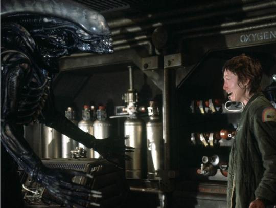 It's hard to believe the alien in Alien was just a