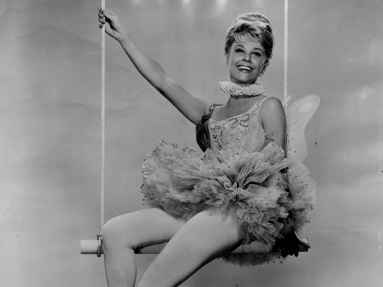 Nov. 14, 1962: Doris Day in the great circus show,