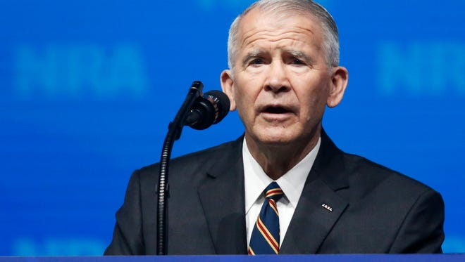 Former U.S. Marine Lt. Col. Oliver North assumed the presidency of the National Rifle Association this year.