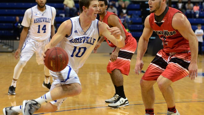 UNC Asheville's Kevin Vannatta leads his team in minutes played this season.