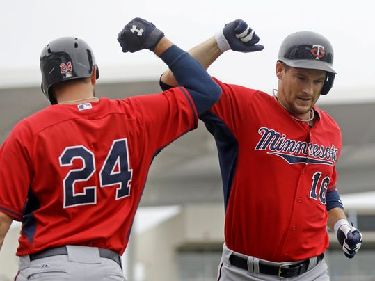Twins Red Sox Spring Baseball