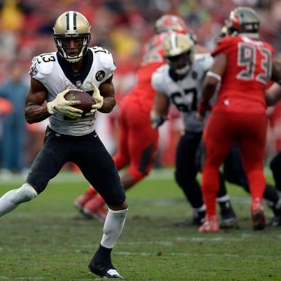 New Orleans Saints wide receiver Michael Thomas (13)