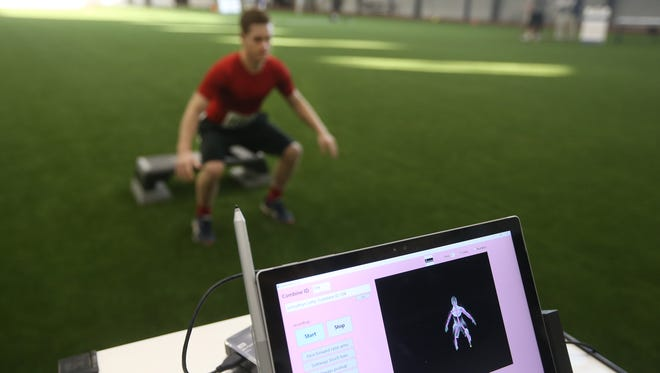 An All-Greater Rochester athlete has his muscle balance and movement recorded using a computer program. Everyday people are athletes in their own right, and the same technology to improve sports performance could help people avoid injury and maintain their independence.