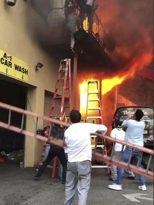 Dance Studio Fire