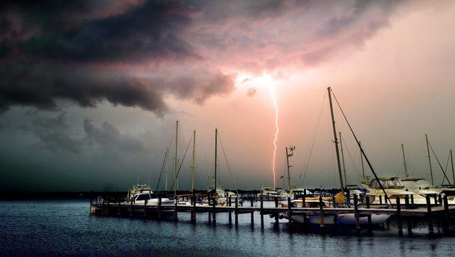 Severe weather is forecast for Brevard County today.