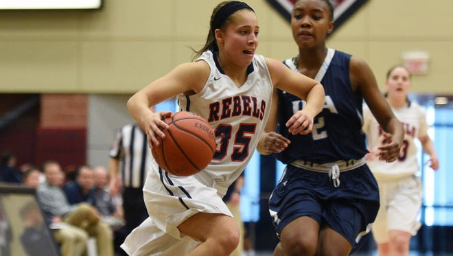 Sophomore guard Jackie Wolak entered Friday averaging 9.1 steals per game.