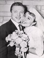 On Dec. 29, 1957, singers Steve Lawrence and Eydie