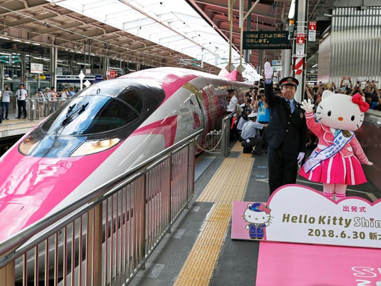 AP JAPAN HELLO KITTY BULLET TRAIN I ENT JPN
