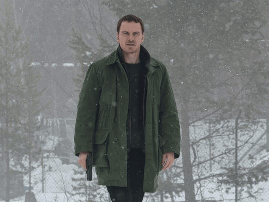 """""""The Snowman"""" stars Michael Fassbender as a detective."""