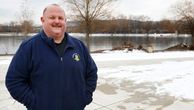 "In his retirement, former Elmira Police Chief Michael ""Robby"" Robertson will invest more time at Eldridge Park where he is the preservation society's president."