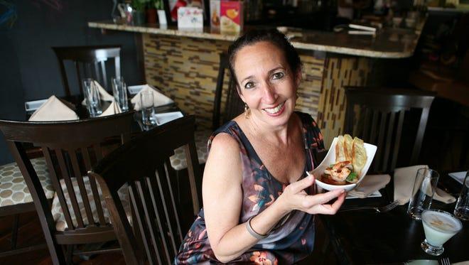 Arlen Gargagliano is pictured in her restaurant Mambo 64, on Main Street in Tuckahoe.
