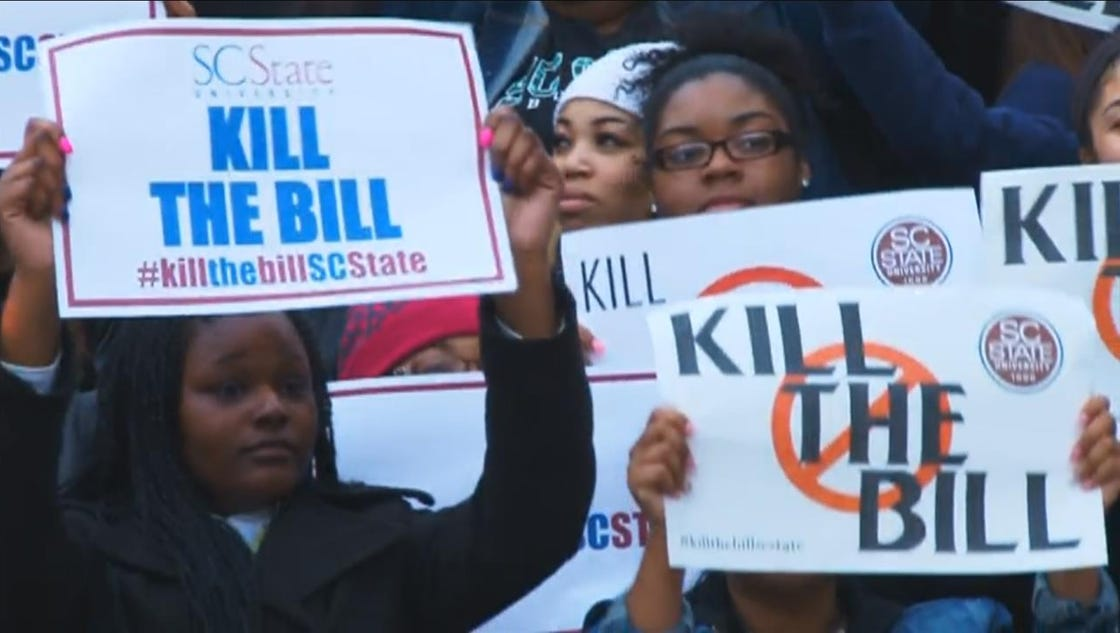 south carolina state president vows school won t close