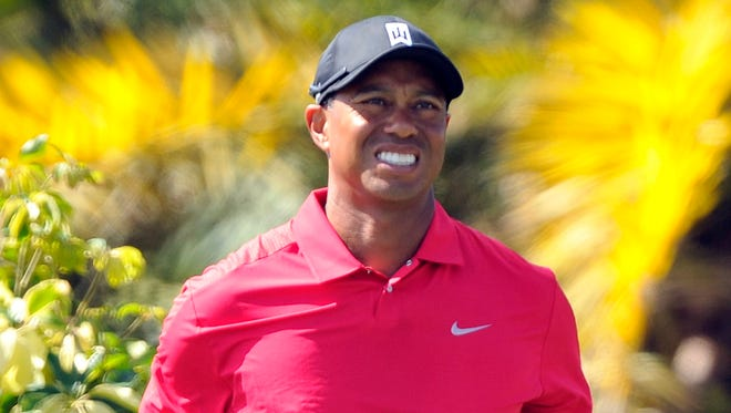 Tiger Woods won't play in the Masters for the first time since 1995, when he was an amateur.