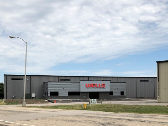 Wells Vehicle Electronics recently leased a space on