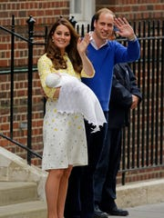 Kate Middleton, the Duchess of Cambridge, steps out