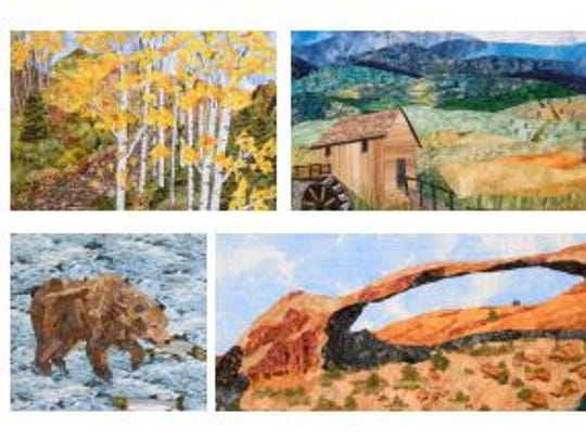 """Inspired by the National Parks"" quilt exhibit runs"