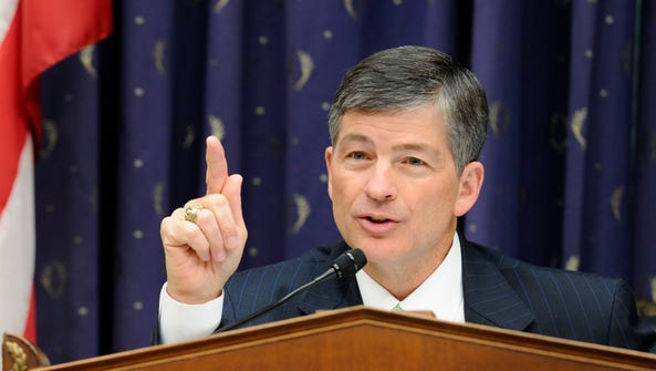 House Financial Services Chairman Jeb Hensarling, R-Texas,