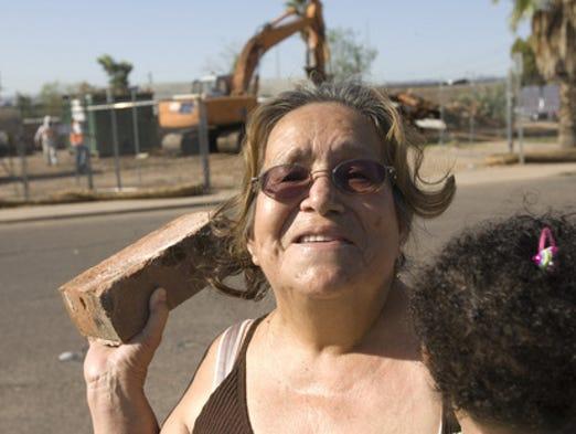 Phoenix began relocating residents in the Nuestro Barrio