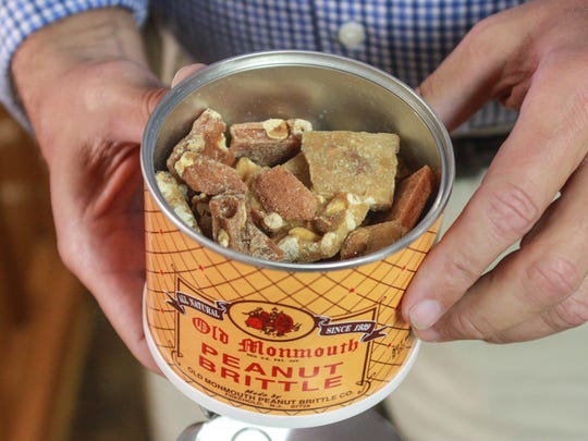 A classic Monmouth County treat: peanut brittle from Old Monmouth Candies.
