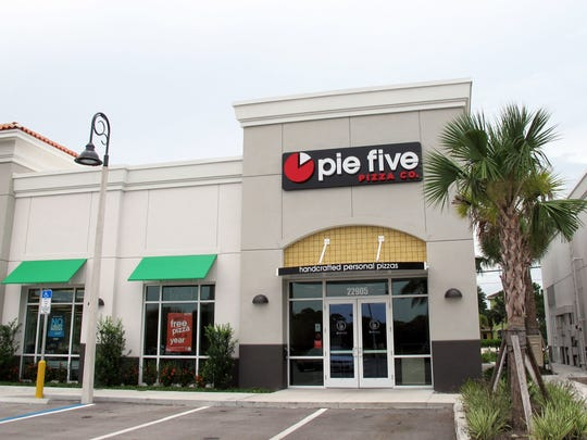 Pie Five Pizza Co. launched its first area location in June across U.S. 41 from Coconut Point in Estero.