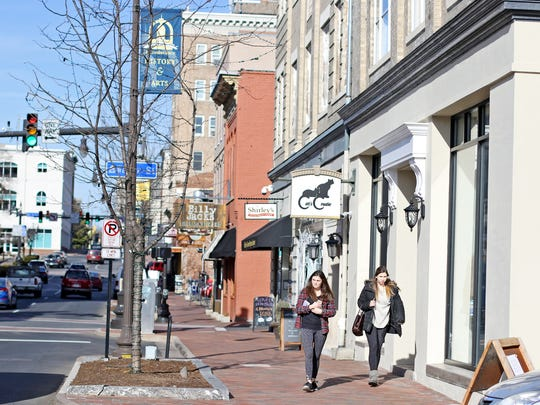 Downtown Harrisonburg has revitalized many of its older