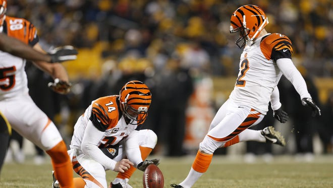 A series of proposed NFL rule changes could change the game for kickers like Mike Nugent.
