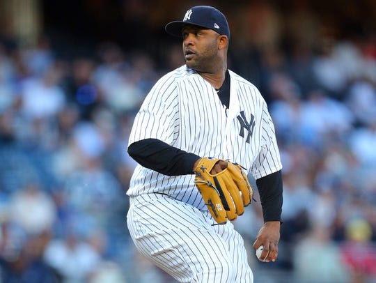 CC Sabathia was dominant through eight innings, allowing